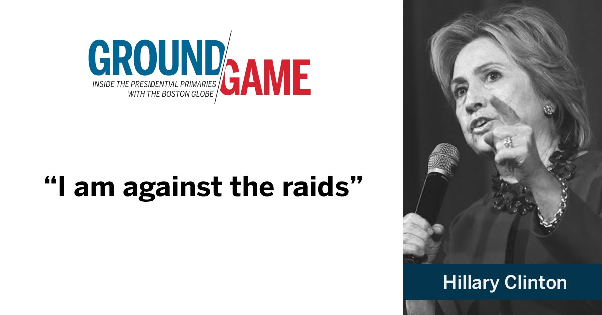 Hillary Clinton on immigration reform during DemDebate. Watch live