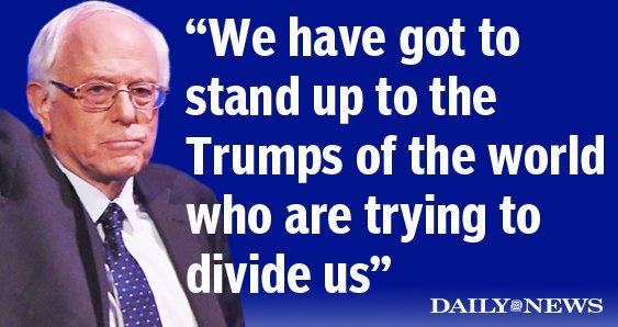 Bernie Sanders comments on his views on immigration reform DemDebate