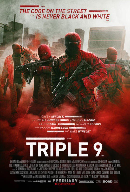 Triple 9 - See the trailer  https://t.co/JU1wMMfsov https://t.co/6oZ3i2pjUU
