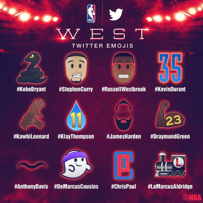 NBA unveils all-star Twitter emojis. But something's missing from StephenCurry's emoji...