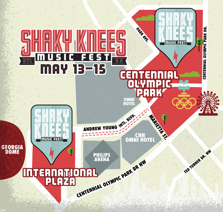Shaky Knees Festival on Twitter: \