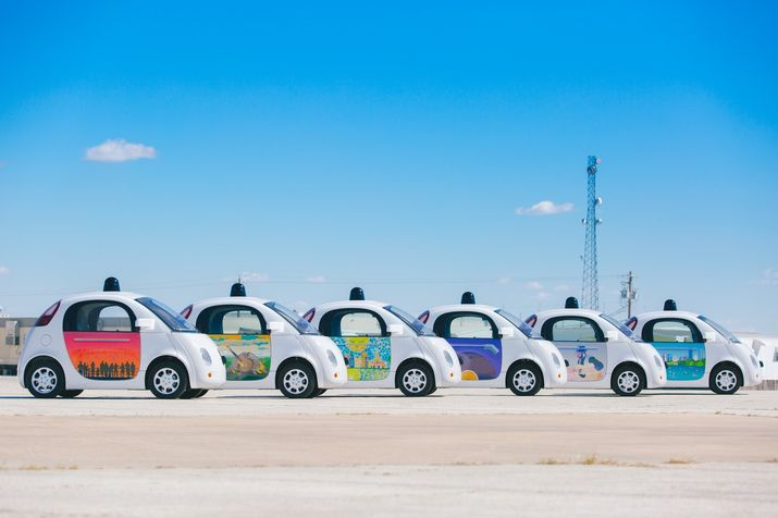 Austin artists add ATX flair to Google's local self-driving cars