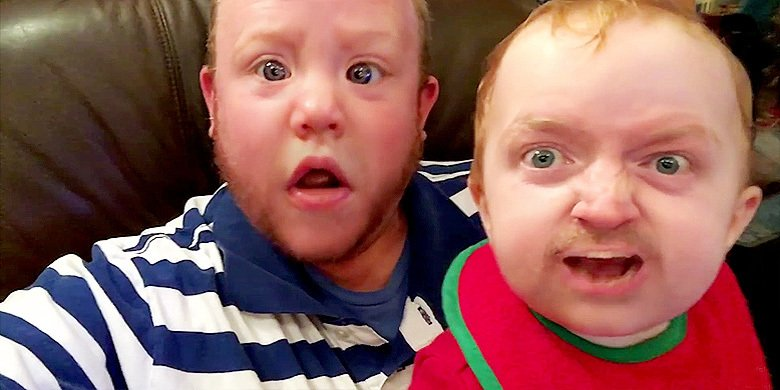 CREEPIEST FACE SWAP VIDEO EVER!!! https://t.co/MSg51YKQxu https://t.co/5SthH7E5G3