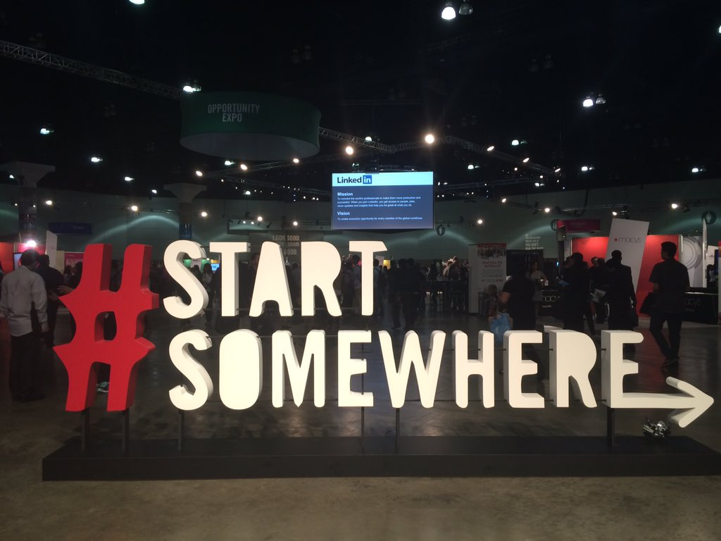 Thank you to all who were involved in putting together this successful event for Los Angeles' youth! #startsomewhere