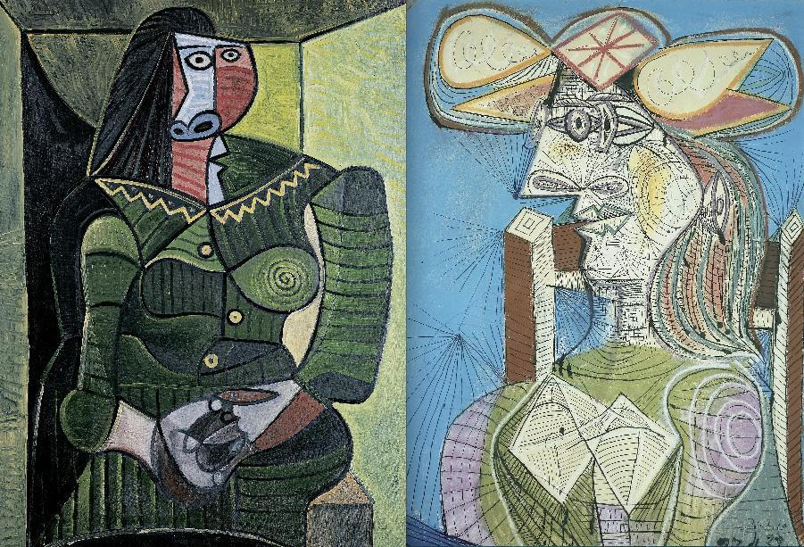 Picasso's explosive energy, concentrated at the MFA