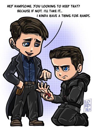 "RT @lordmesa: ""Give Me a Hand?"" @Team_Barrowman @ArrowProdOffice @CW_Arrow @ARROWwriters 😜✋🏽😜✋🏽😜 #CaptainJackHarkness #torchwood https://t.…"