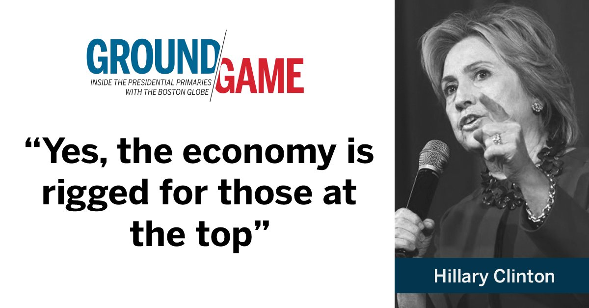 Hillary Clinton in her opening statement during DemDebate. Watch live