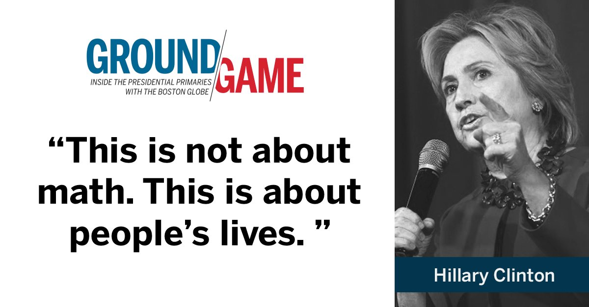 Hillary Clinton on healthcare during DemDebate. Watch live