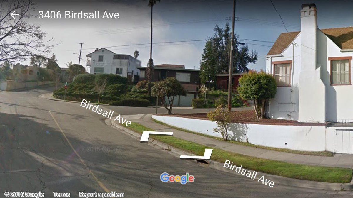 Search by @oaklandpoliceca for carjacking suspects,3400 Birdsall near I-580/High. @CHP_GoldenGate helo H32 overhead