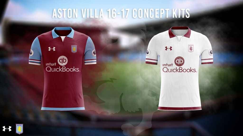 Daniel On Twitter Aston Villa 16 17 Under Armour Concept Kits Featuring The New Premier League Badge Kitgraphic Customkit Https T Co 0lnxj920do