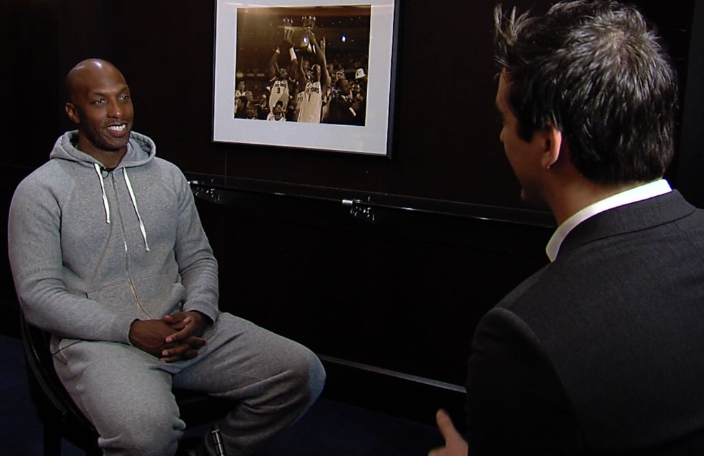 Chauncey Billups is back in Detroit to see his jersey retired. One-on-one with Mr. Big Shot