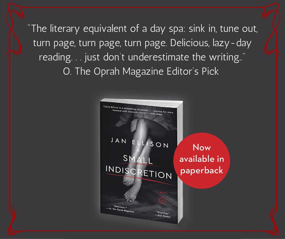 The Small Indiscretion by @janellison is now available in paperback! https://t.co/73OfWMuwzH https://t.co/gORnfzxRvY