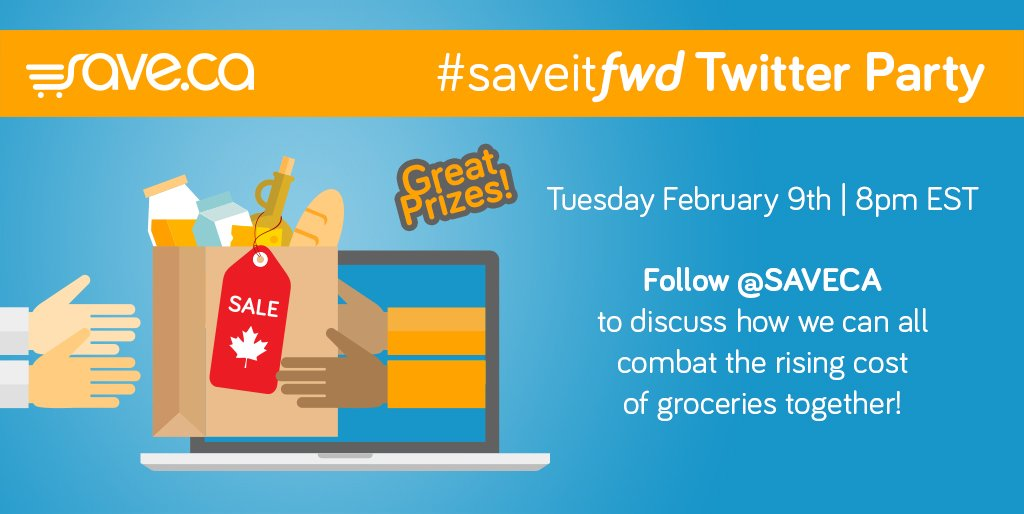 Alright, who's ready to #saveitfwd? RT if you'll be joining in on the @SAVECA Twitter party in 15 minutes! https://t.co/FxYx5wWlAt