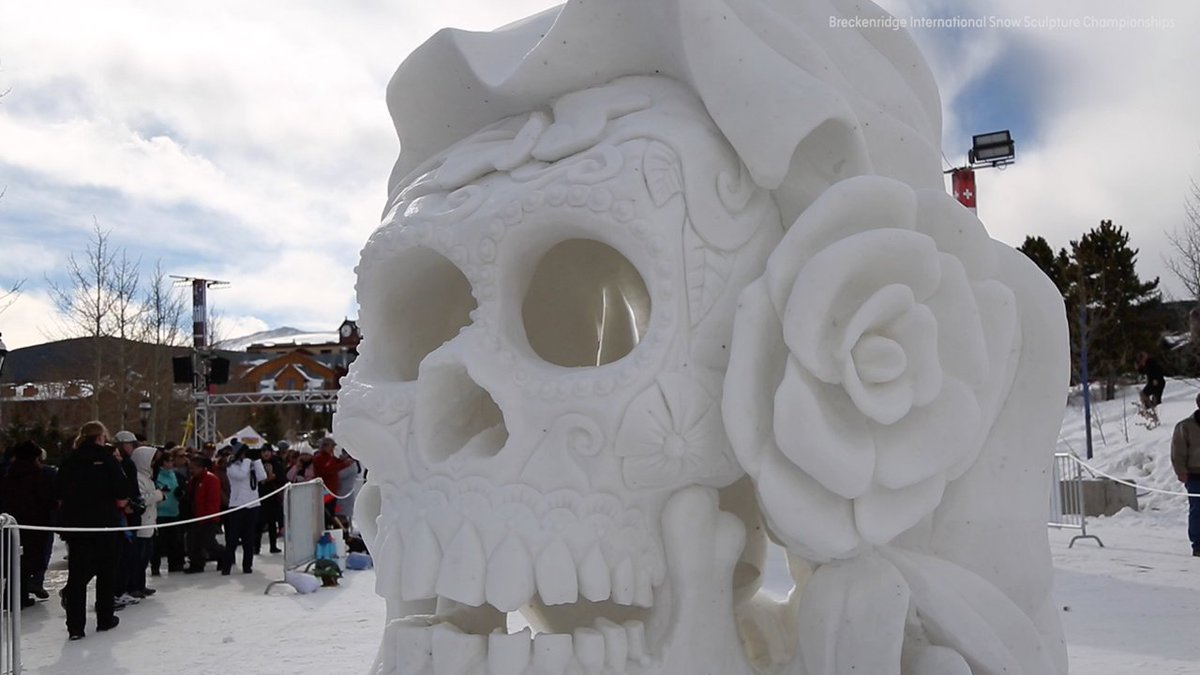 See the incredible creations from this year's International Snow Sculpture Championships