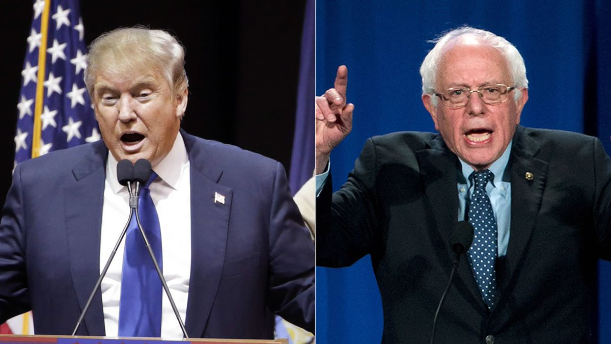 ABC News projects Trump, Sanders to win New Hampshire primaries.