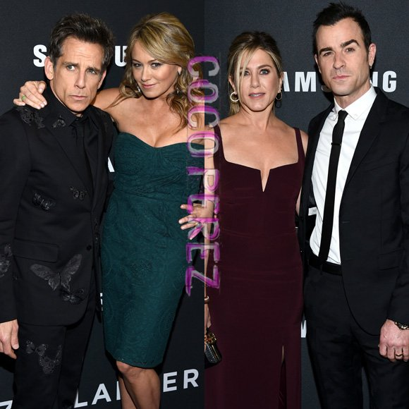 #BenStiller, #JustinTheroux & their wives make the cutest couples at #Zoolander2's premiere! https://t.co/69sMBWi06S https://t.co/ed5CAh9HFn