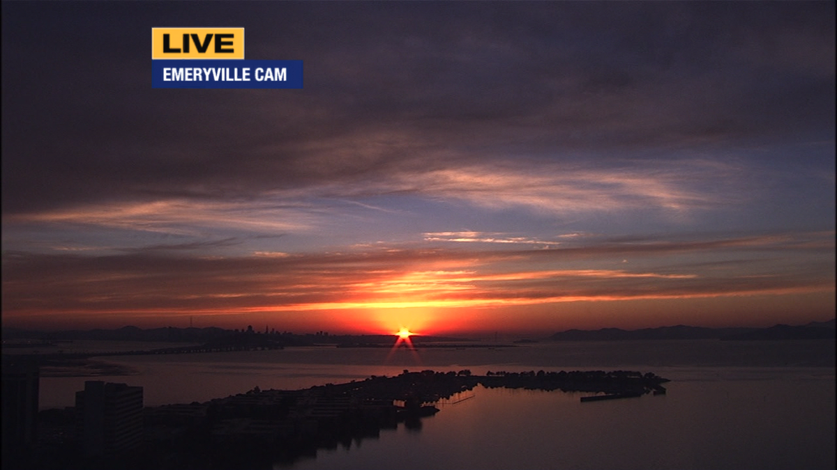 Just for the record, this is the view from Emeryville.