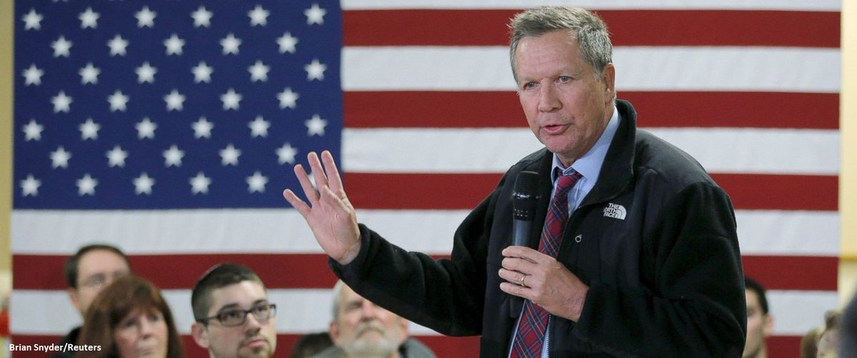 JUST IN: @ABC News projects John Kasich will finish second in GOP NHPrimary.