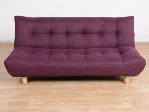 Superb Gozefo On Twitter Sarah 3 Seater Sofa Cum Bed Purple Theyellowbook Wood Chair Design Ideas Theyellowbookinfo