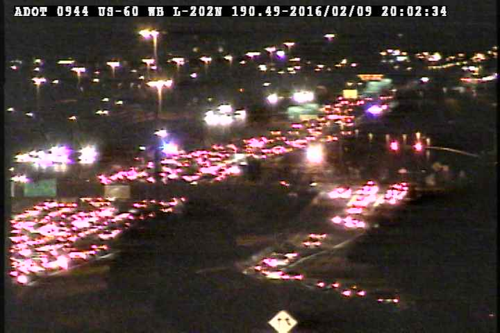 TRAFFIC ALERT: Eastbound U.S.60 blocked at Loop 202. Check traffic conditions here: abc15