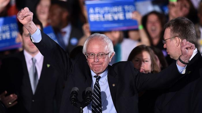 Sanders after decisive New Hampshire win: