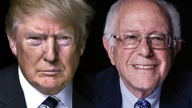 Once longshots, Trump and Sanders win in NH