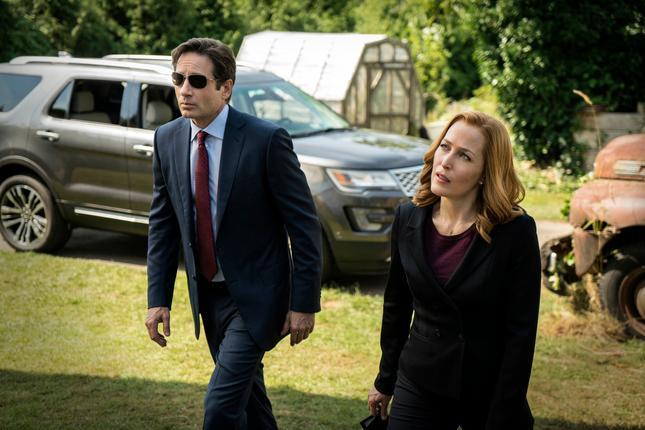 With Scully back in the 'X-Files' reboot, I'm crushing on Gillian Anderson again