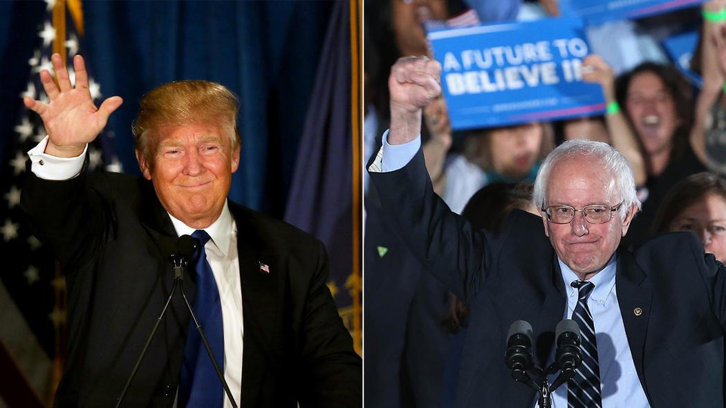 Trump, Sanders ride wave of voter frustration to big wins in New Hampshire