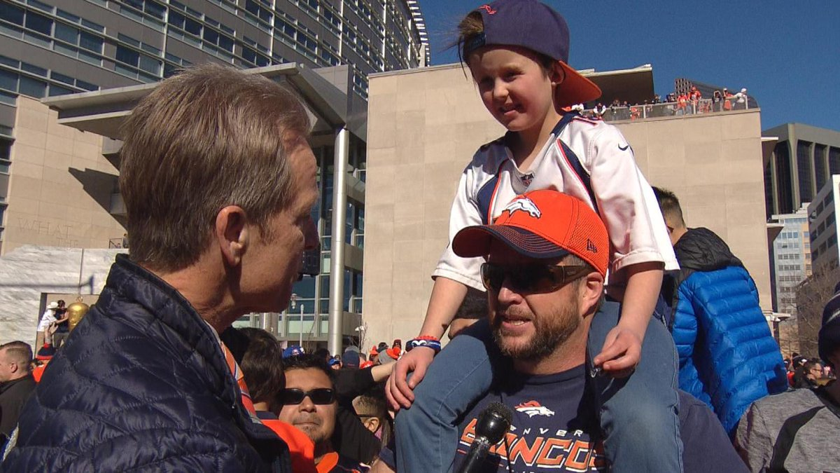 Family Of 9-Year-Old Fighting Cancer Finds Hope With Broncos' Super Bowl Win