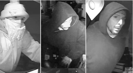 SanJose police on hunt for Western Union burglary suspects. ktvu Surveillance video -->