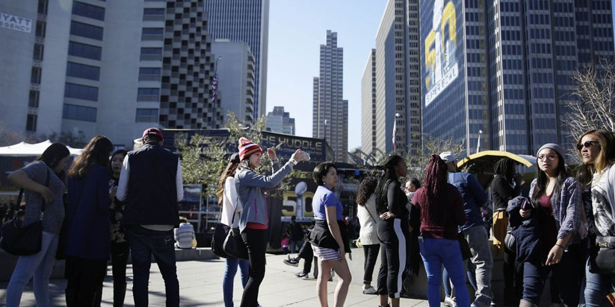 Supervisor Aaron Peskin wants SF street vendors compensated for Super Bowl City.