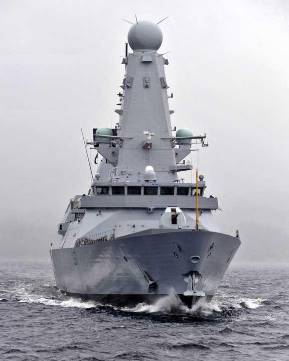 machines for war type 45 destroyer