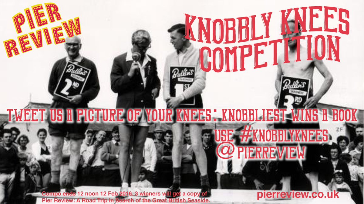 It's our online #knobblyknees competition. Tweet a photo (of your knees) & use the hashtag. Knobbliest wins a book https://t.co/z8FFcScGQk
