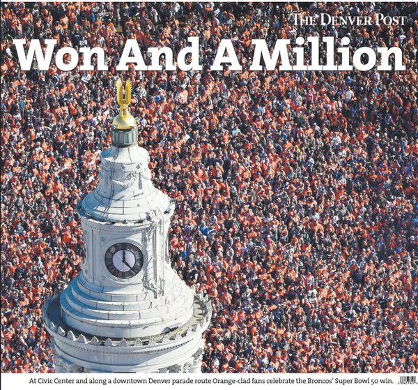 Don't miss today's BroncosParade front page, you might be on it