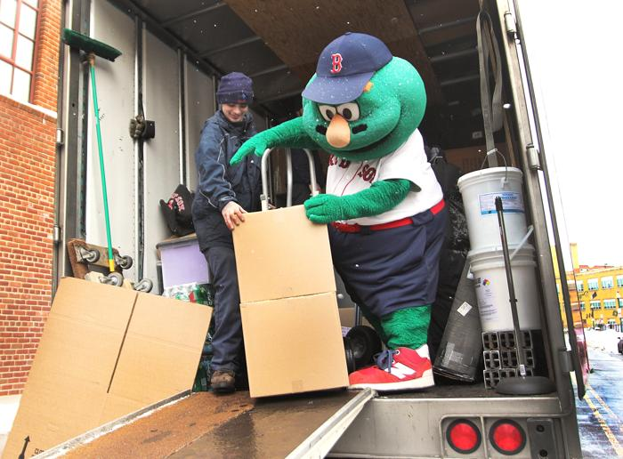 Morning Sports Update: It's Red Sox Truck Day