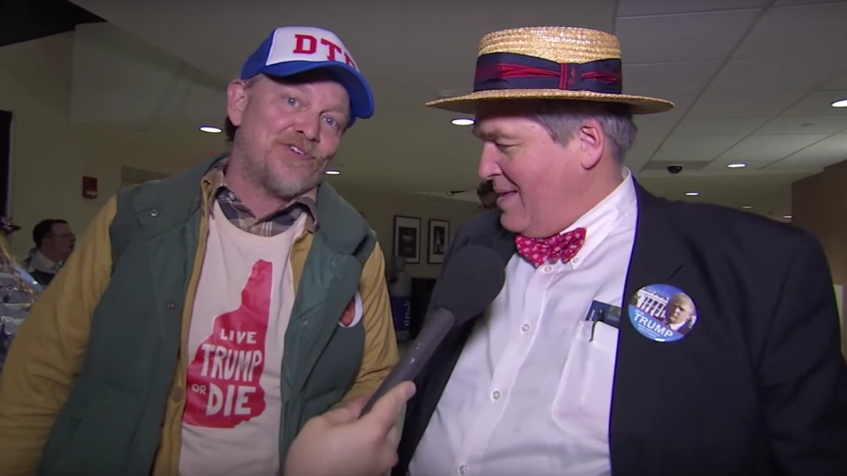 Jimmy Kimmel trolled New Hampshire with a fake Donald Trump supporter