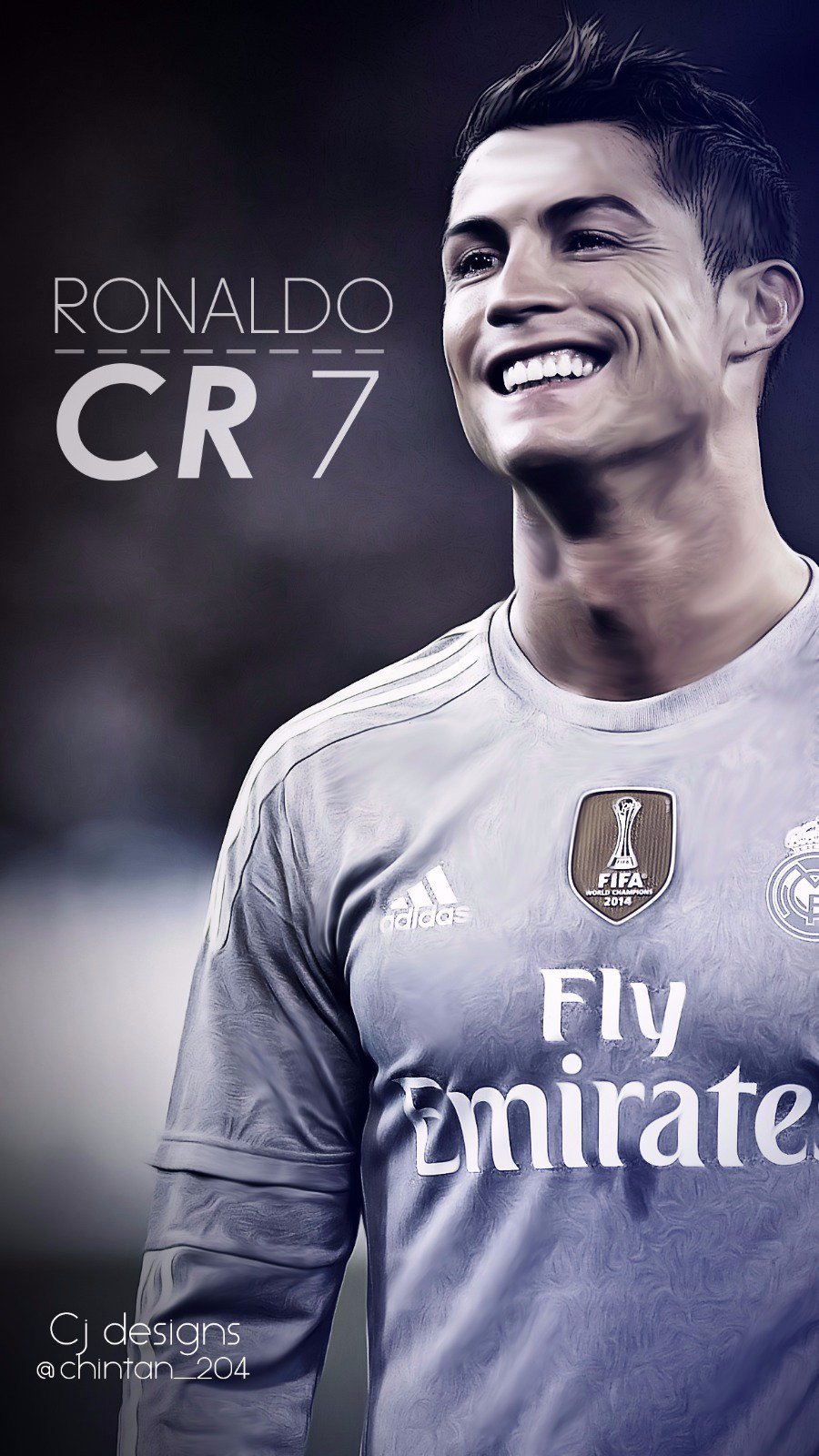 cj designs on twitter cristiano ronaldo phone. Black Bedroom Furniture Sets. Home Design Ideas
