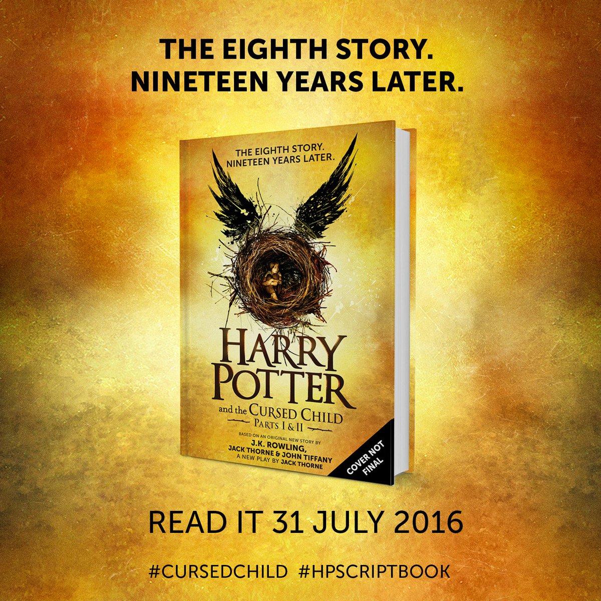 Оголошена дата виходу восьмий книги про Гаррі Поттера - фото 1
