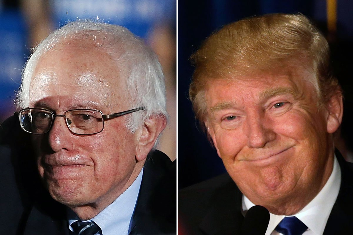 Bernie Sanders, Donald Trump win big in New Hampshire.