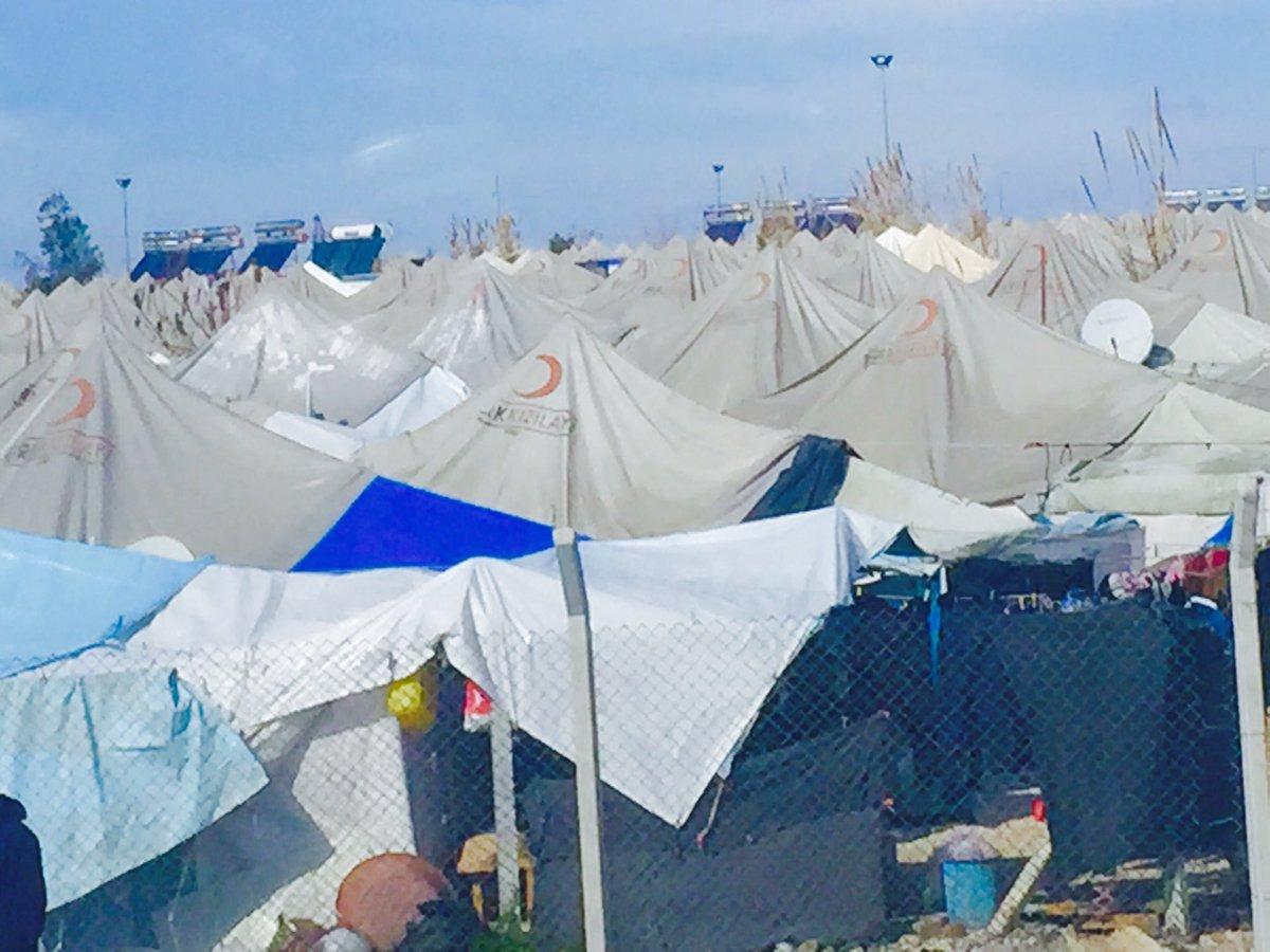 Arrivée camp d'Osmaniye. https://t.co/0FdB7cidPf