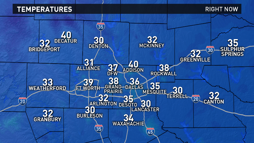 A very chilly start again this morning. wfaaweather