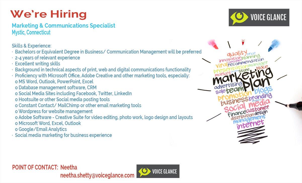 voiceglance voiceglance twitter ca2behkvaaalx1y voiceglance online advertising specialist were hiring online advertising specialist were hiring
