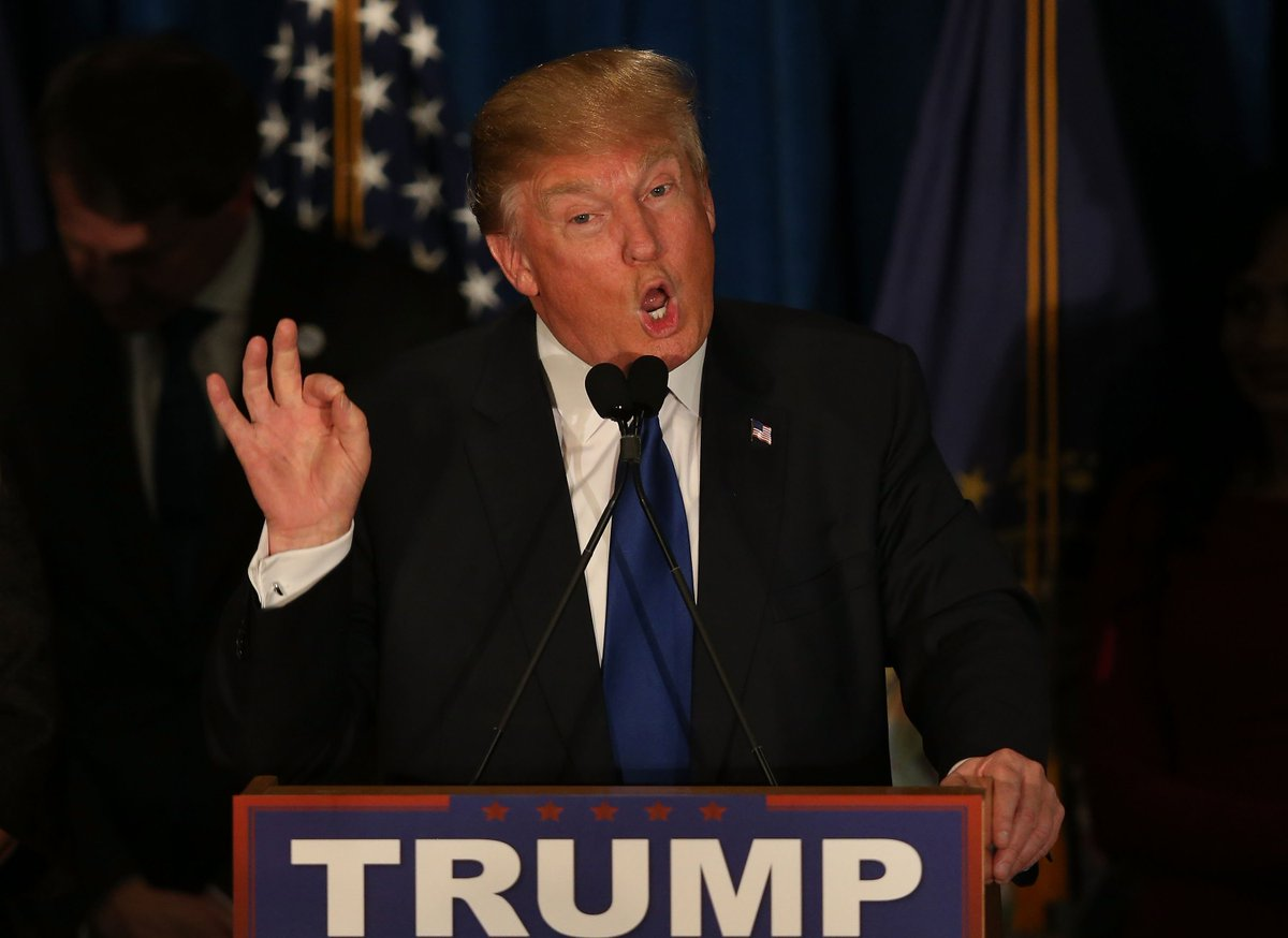 Trump throws out playbook to score big in N.H. primary