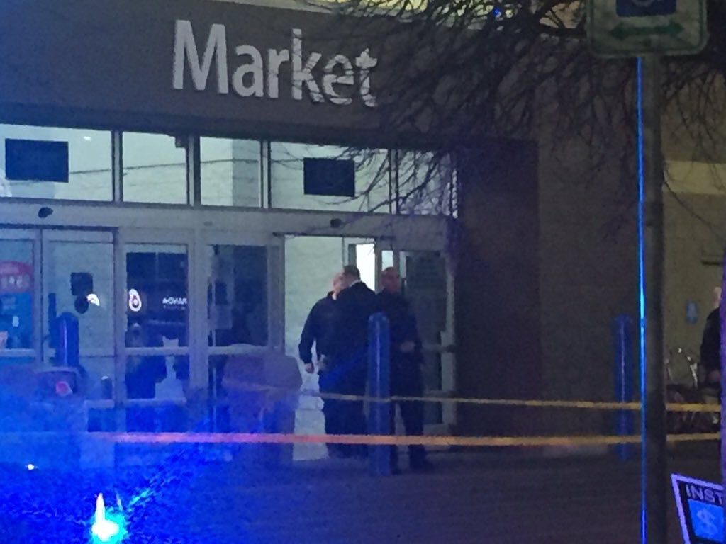 All clear now, but it was a frightening scene at this Dallas Walmart last night. @CBSDFW