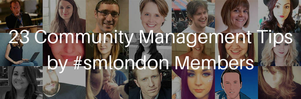 RT @Social_Pip: Community is key! 23 Community Management Tips by #smlondon Members https://t.co/eIdbfnLYkq via @SocialMediaLond https://t.…