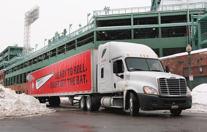 Here's what the Red Sox packed for Truck Day