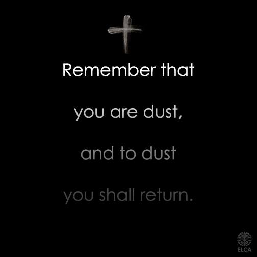 Today is #AshWednesday. #ashtag https://t.co/FIHjf3fm9n