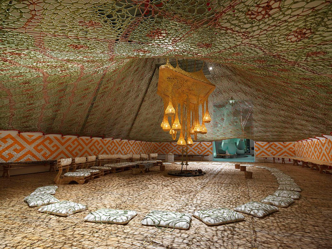 A look back at Ernesto Neto's beautiful installation – a collision of art and spirituality: https://t.co/Dt2yOUBFC4 https://t.co/IkOjbH9bkY