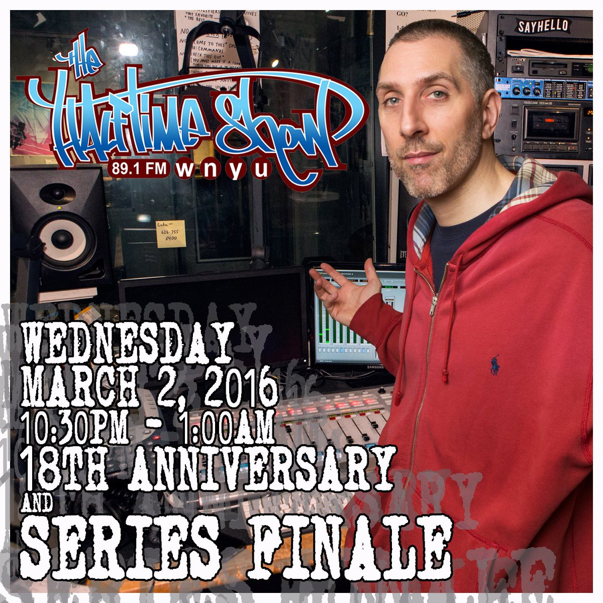 It's been a great run, but March 2, 2016 will be the 18th anniversary and LAST Halftime Show. https://t.co/tLH7DIJt5f