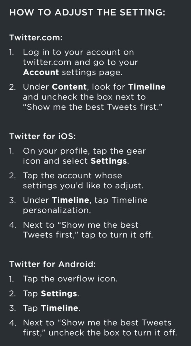 Twitter's new timeline is here, and it's all about the algorithm